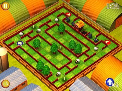奔跑的绵羊:小世界图片