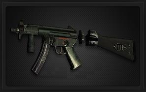 HK MP5K冲锋枪