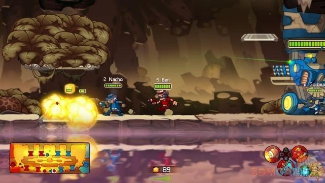 2D横版射击游戏《王牌英雄》将登陆PC