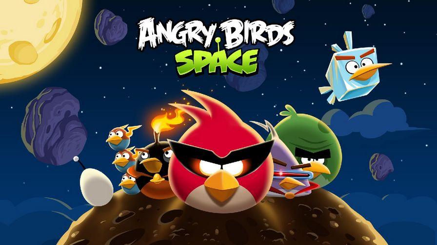 愤怒的小鸟:太空版图片