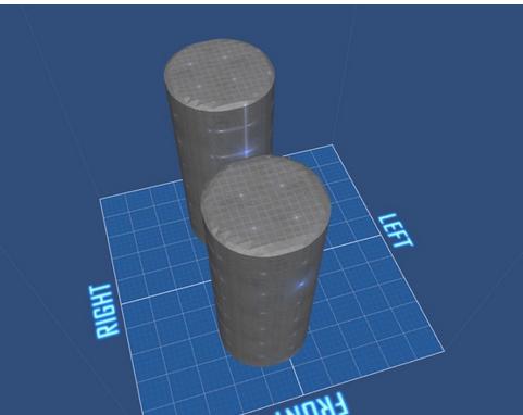 球探险家 制作圆柱体方法图片
