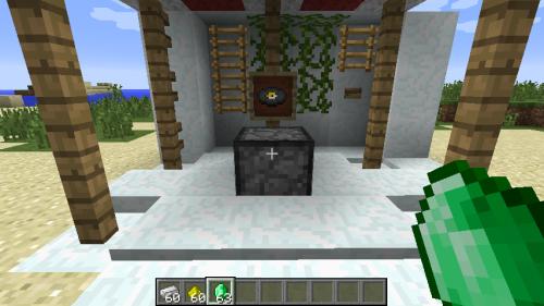 我的世界 命令方块实现物品合成的方法