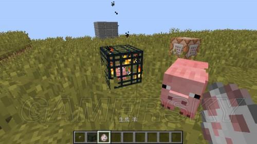 ...命令方块才是真理   新加入的生物也可以   我们知道放置的...