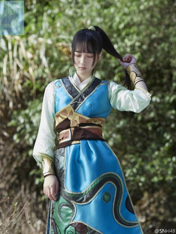 四千年一遇的美女出镜啦!SNH48清纯写真美照