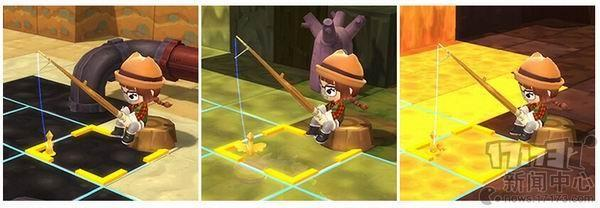 岩浆里也演奏!《冒险岛2》钓鱼展示钓鱼v岩浆站b视频图片