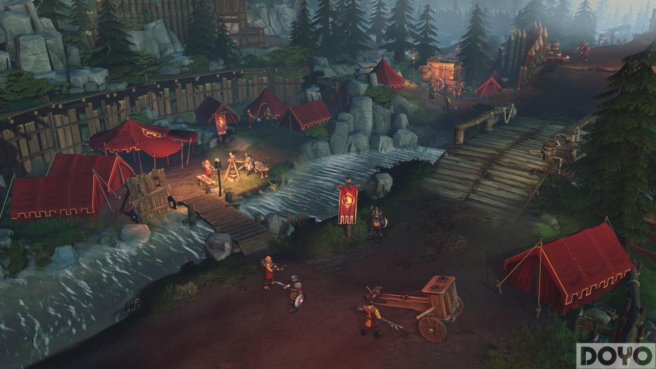 育碧公布新单机RTS《安特里亚冠军》 8月登陆PC