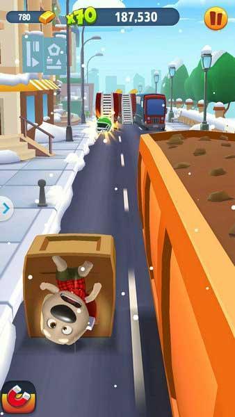 《汤姆猫跑酷》玩家作死盘点:强行装X果然致命