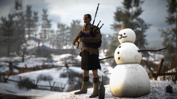 """和平至上 《凡尔登战役》""""圣诞停火""""DLC下周回归"""