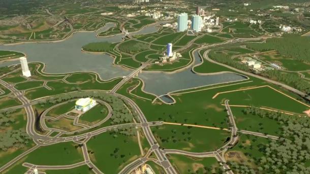 《城市:天际线》高人完美还原整座马来西亚城市