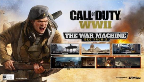 加入空战 《使命召唤14》新DLC战争机器预告片