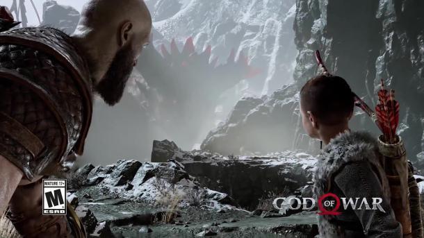 底气十足!这段《战神4》的售后宣传片有点不一样