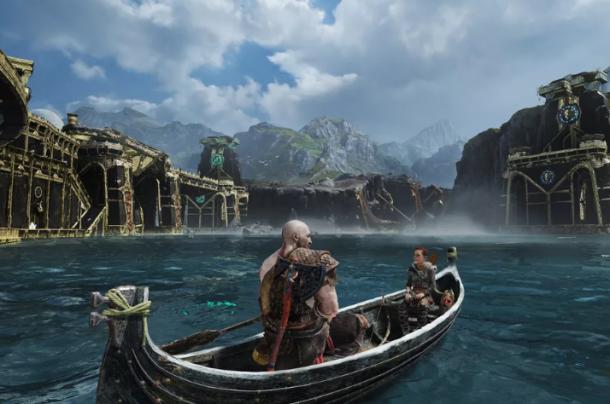 《战神4》过肩视角让玩家身临其境 战斗更加刺激