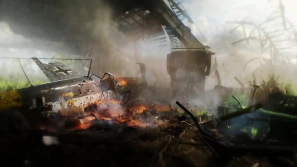 十月不见不散 EA公布《战地5》宣传片及发行日