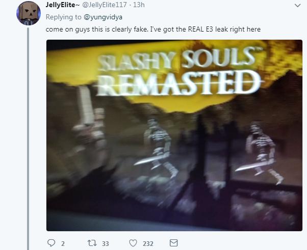 《血源:大逃杀》E3泄露?官方站出来大骂Sh*t