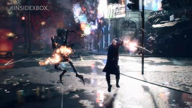 E3 2018:《鬼泣5》实机演示 尼禄耍酷猎杀恶魔