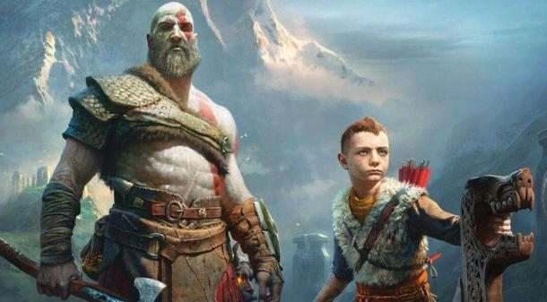 《战神4》总监晒与儿子合照 玩家称这才是原版Boy