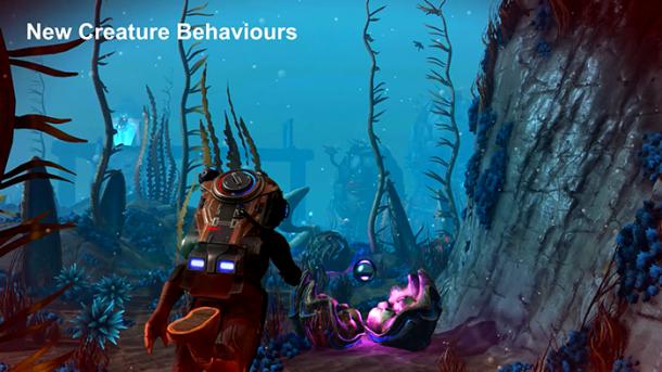 《无人深空》1.71更新发布 玩家探索海底世界更爽了