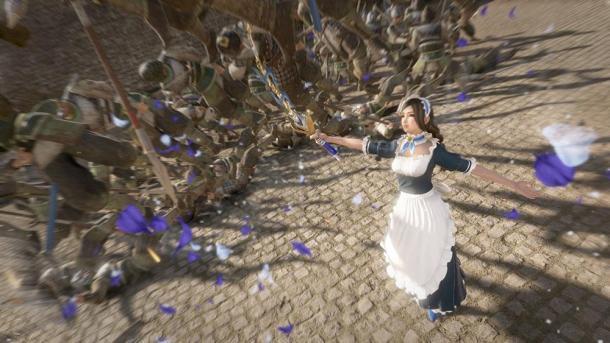 《真三国无双8》第二弹DLC服装截图 御姐更美丽