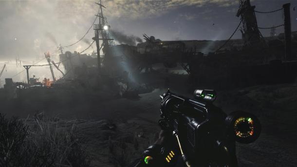 《地铁:逃离》新演示视频 在沙漠大战变异怪物