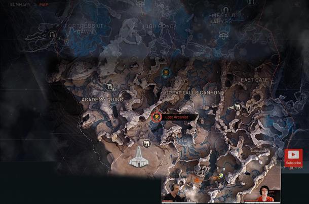 开发人员展示《圣歌》地图 尺寸巨大幅员辽阔