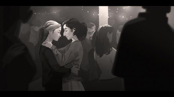《美国末日2》早期概念图赏 艾莉蒂娜深情对视