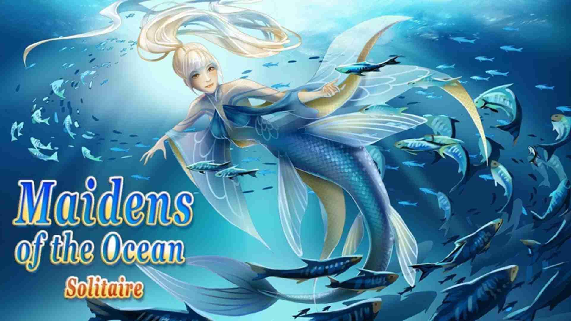 海洋少女纸牌图片