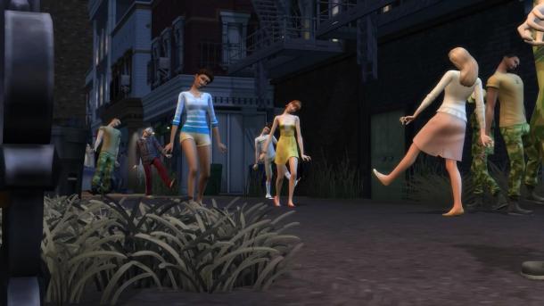 """《模拟人生4》游戏包""""诡异小镇""""预告 所有人都疯了"""