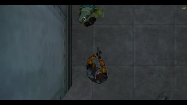 新奇MOD把初代《半条命》变成俯视射击玩法