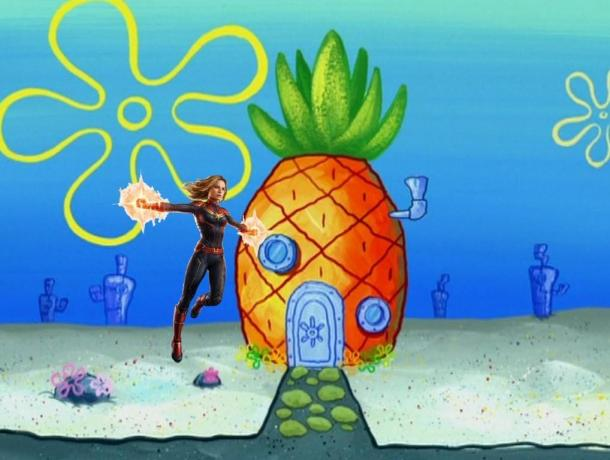 """真是哪儿哪儿都有你!《惊奇队长》化身""""水果队长"""""""