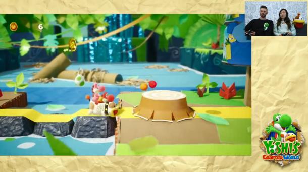 想好和谁一起玩了吗 《耀西的手工世界》公布双人模式演示视频