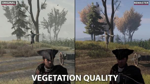 植被甚至還有BUG?《刺客信條3》重制版畫面詳細測試