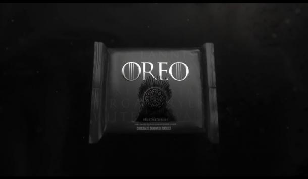 奥利奥版《权力的游戏》片头 史诗级夹心饼干