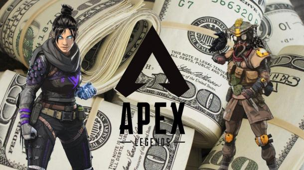 《Apex英雄》《堡垒之夜》奖金排名 美国选手几近霸榜