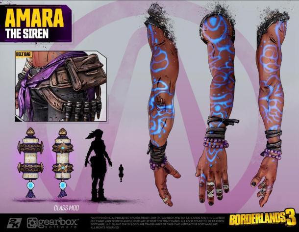 《无主之地3》主角团官方Cos指南 细致到每一块指甲!