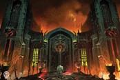 《毁灭战士永恒》公布概念插画 地狱气氛扑面而来