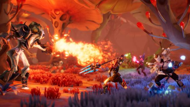 动作游戏《伊甸园崛起》Steam正式版发售 有塔防要素