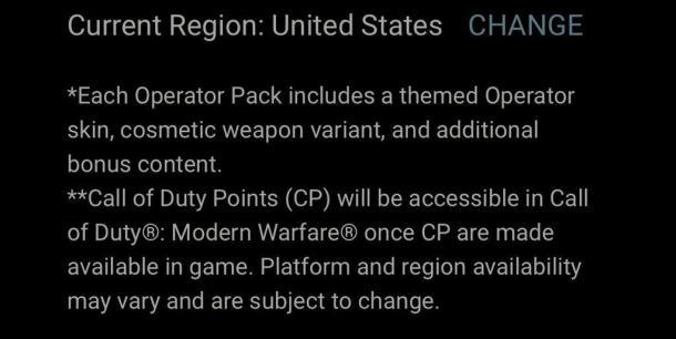 《使命召唤16:现代战争》上市后将添加氪金微交易