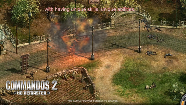 E3:《盟军敢死队2》将推出高清重制版 今年Q4发售