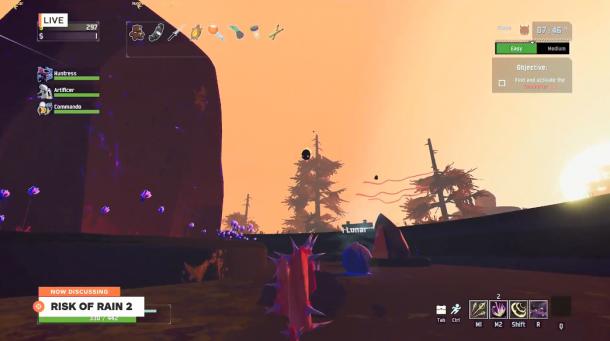 《雨中冒險2》新角色試玩演示 巨型機器射手Rex