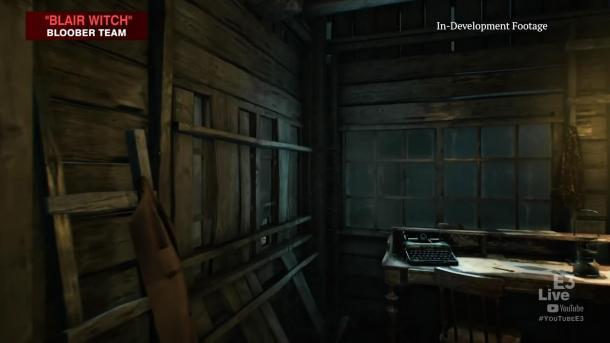 恐怖新作《布萊爾女巫》演示視頻 無盡夢魘讓人恐懼