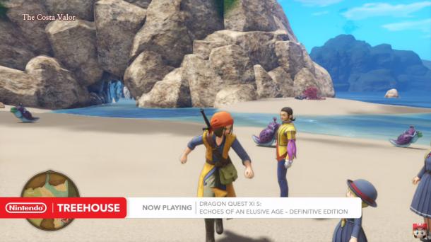 E3:《勇者斗恶龙11s》30分钟游戏演示 国民RPG精彩依旧