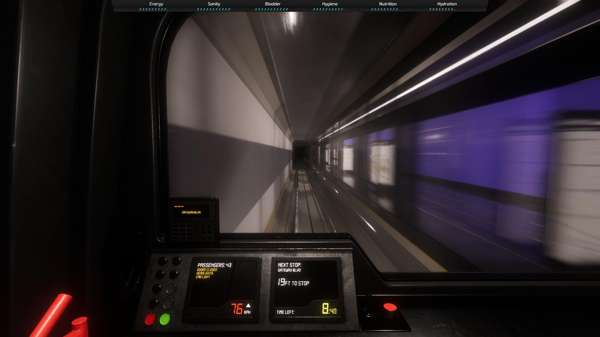 地铁模拟图片