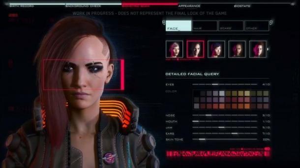 《賽博朋克2077》角色創建選項將不受限于性別