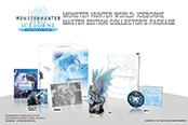 怪物獵人世界:冰原典藏版冰咒龍模型王者風范