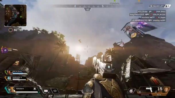 《Apex英雄》惊现飞龙 击杀后还会掉落战利品