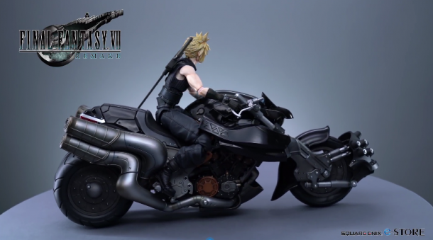 SE公布《最終幻想7》重制版新視頻 居然展示手辦?