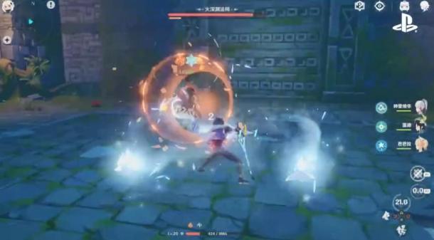 CJ 2019:米哈游新作《原神》2020年正式登陆PS4