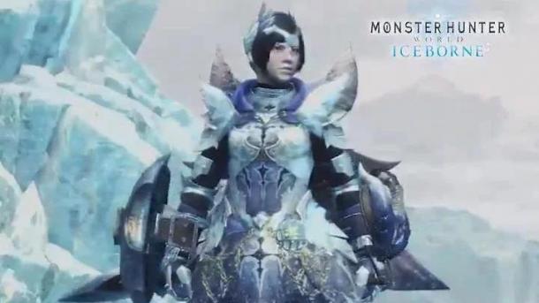 """《怪物猎人世界:冰原》""""霜翼风漂龙""""套装视频演示"""