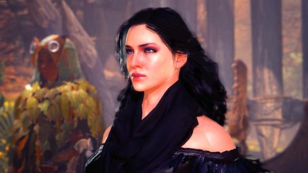 """《怪物猎人世界》""""巫师3""""Mod 操控叶奈法特莉丝打怪"""