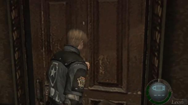 毅力感人!玩家在《生化危机4》中用房门砸死敌人